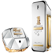 1 MILLION & LADY MILLION LUCKY AS NOVAS FRAGRÂNCIAS PACO RABANNE