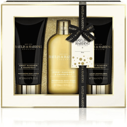Sweet Mandarin & Grapefruit Baylis & Harding 3 Piece Set