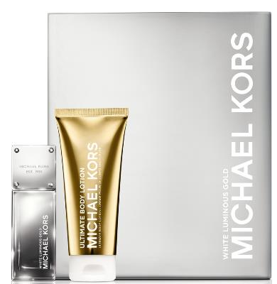 MICHAEL KORS Woman Fabulous White Gold Holiday Set