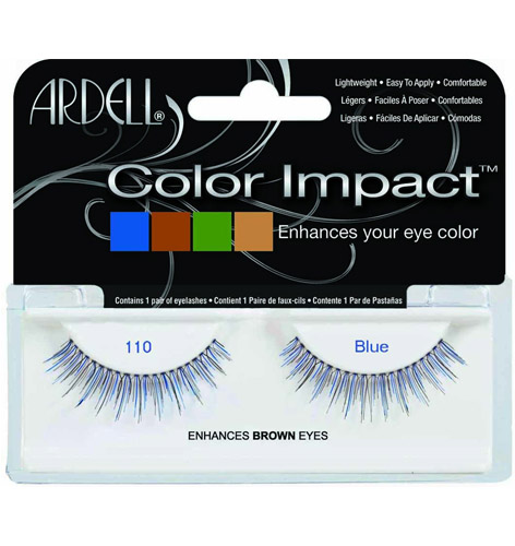 Pestanas Color Impact 110 Blue Array