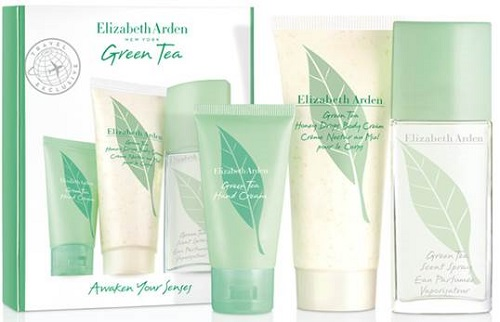 Green Tea Elizabeth Arden Coffret 50 ml