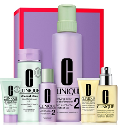 Clinique Great Skin Everywhere 1/2 Great Skin Everywhere 1, 2 Xmas Set
