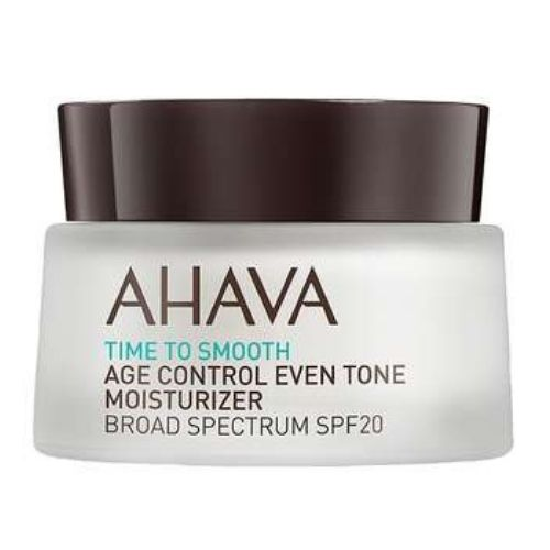 Time To Smooth Ahava Age Control Even Tone Moisturizer SPF20 50 ml