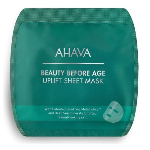 Beauty Before Age Ahava Uplifting&Firming Sheet Mask