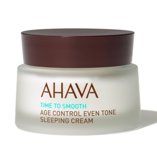 Time To Smooth Ahava Age Control Even Tone Sleeping Cream 50 ml