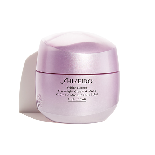 White Lucency Shiseido Overnight Cream & Mask 75 ml