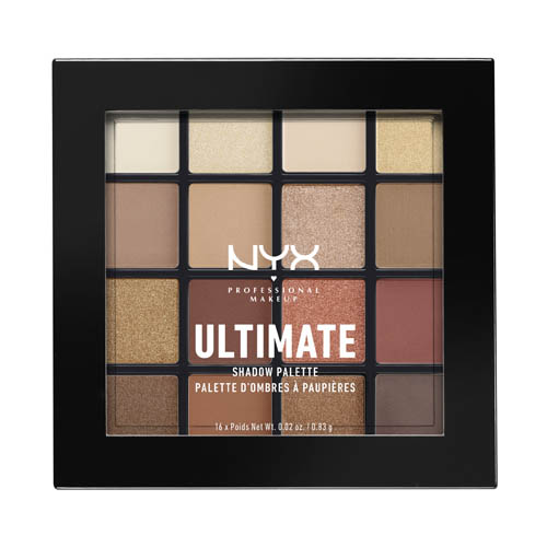 Ultimate NYX Professional Makeup Shadow Palette Warm Neutrals Warm neutrals