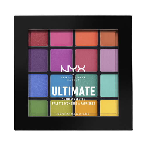 Ultimate NYX Professional Makeup Shadow Palette Brights Brights