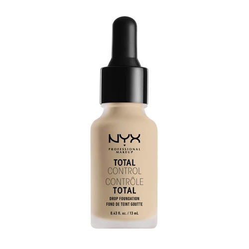 Total Control NYX Professional Makeup Drop Foundation  02 Alabaster