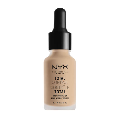 Total Control NYX Professional Makeup Drop Foundation  06 vanilla