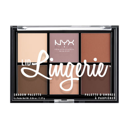 Lip Lingerie NYX Professional Makeup Shadow Palette