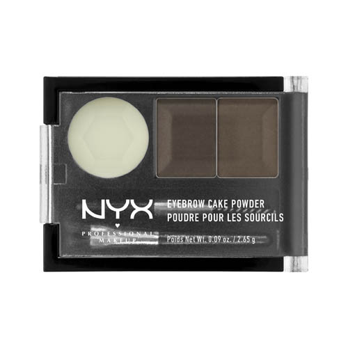 Love Lust Disco NYX Professional Makeup Eyebrow Cake Powder Dark brown/brown