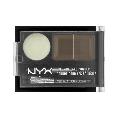Love Lust Disco NYX Professional Makeup Eyebrow Cake Powder Taupe/ ash brown