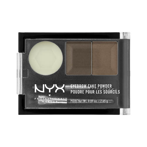 Love Lust Disco NYX Professional Makeup Eyebrow Cake Powder Brunette