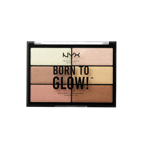 Born To Glow NYX Professional Makeup Highlighting Palette