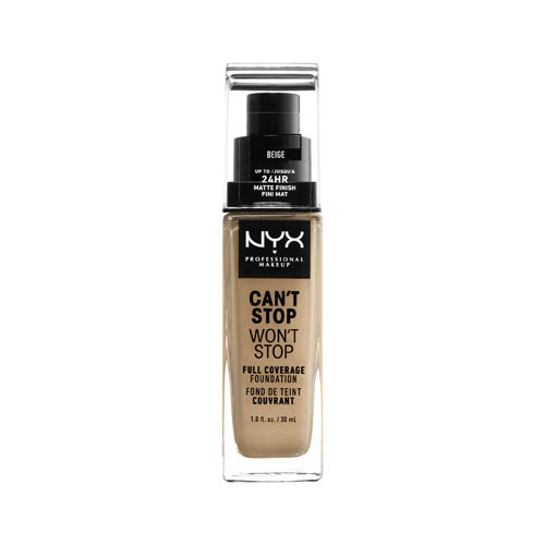 Can'T Stop Won'T Stop NYX Professional Makeup Full Coverage Foundation  11 beige
