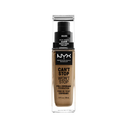Can'T Stop Won'T Stop NYX Professional Makeup Full Coverage Foundation  13 golden