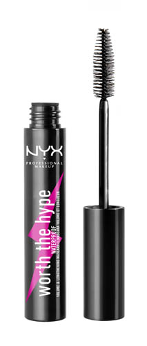 Worth The Hype NYX Professional Makeup Worth The Hype Waterproof Mascara Black