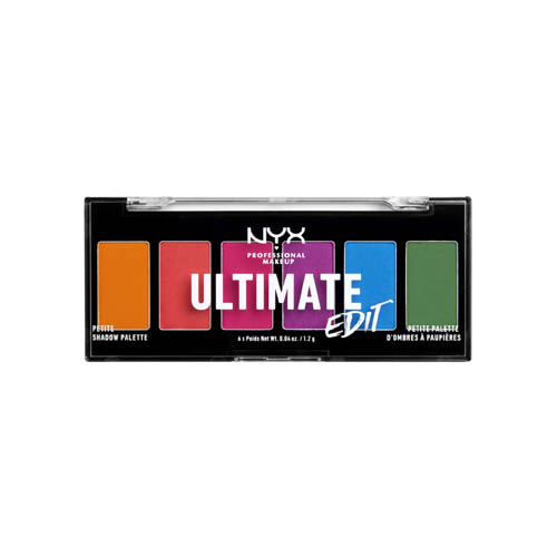 Ultimate Edit NYX Professional Makeup Petite Shadow Palette Brights Brights