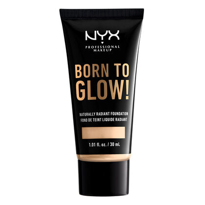 Born To Glow NYX Professional Makeup Bases Liquidas Pale