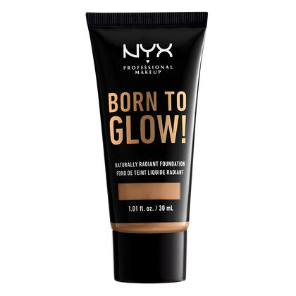 Born To Glow NYX Professional Makeup Bases Liquidas Ntrl tn