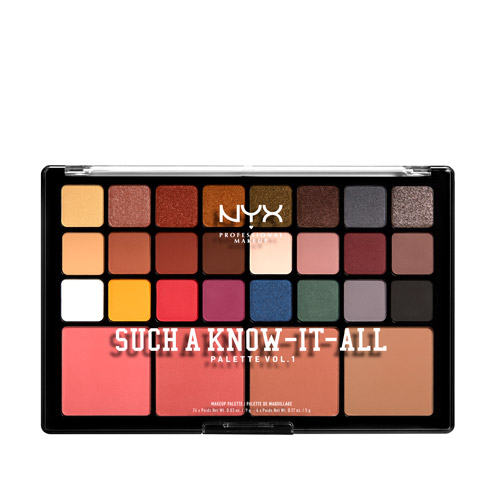 Such a know it all NYX Professional Makeup Paleta de 40 tons