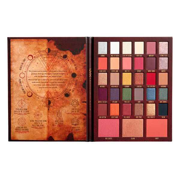 Chilling Adventures Of Sabrina NYX Professional Makeup Spellbook Palette
