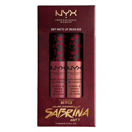 Chilling Adventures Of Sabrina NYX Professional Makeup Soft Matte Lip Cream Duo - Fright Club