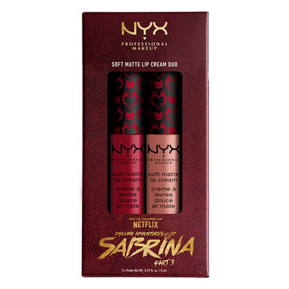 Chilling Adventures Of Sabrina NYX Professional Makeup Soft Matte Lip Cream Duo - Half-Witch