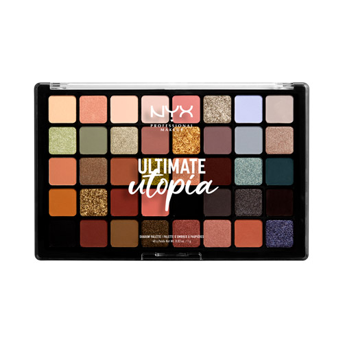 Utopia 40-Pan Palette NYX Professional Makeup 40 tons