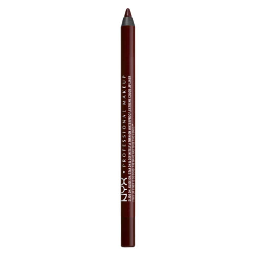 Slide On NYX Professional Makeup Lip Pencil Dark soul