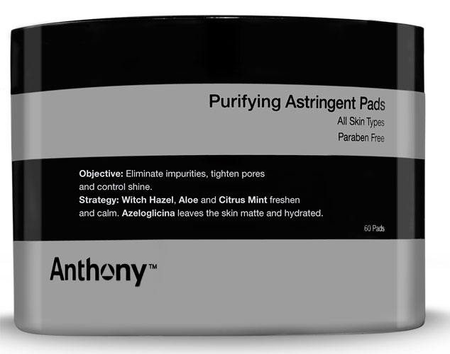 Purifying Astringent Pads Anthony Logistics for Men