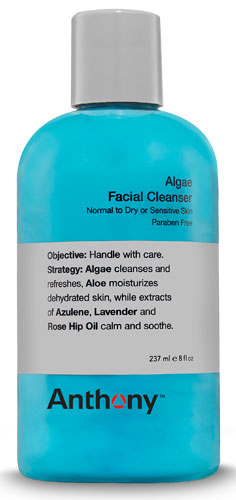 Algae Facial Cleanser Anthony Logistics for Men