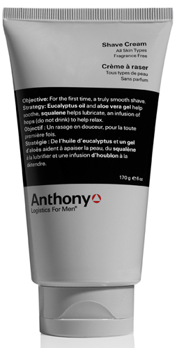Shave Cream Anthony Logistics for Men Anthony Logistics for Men