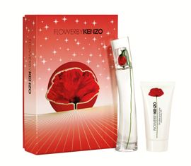 Flower By Kenzo X039Mas Set  EDP 30ml  Body Lotion 50ml Flower by Kenzo