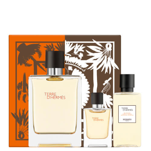Terre d'Hermès HERMÈS Terre D'Hermès Father's Day Set - EDT 100ml + Miniature 5ml + Shower Gel 40ml 100 ml
