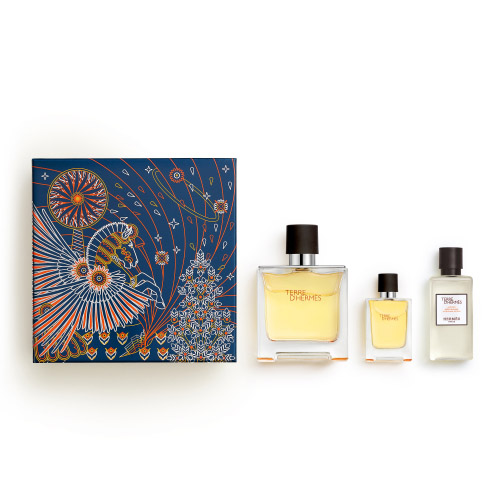 Terre d'Hermès HERMÈS Terre d'Hermès Pure Perfume X'Mas Set - EDP 75ml + EDP 12,5ml + After Shave Lotion 40ml 75 ml