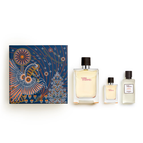 Terre d'Hermès HERMÈS Terre d'Hermès X'Mas Set - EDT 100ml + EDT 12,5ml + After Shave Lotion 40ml 100 ml