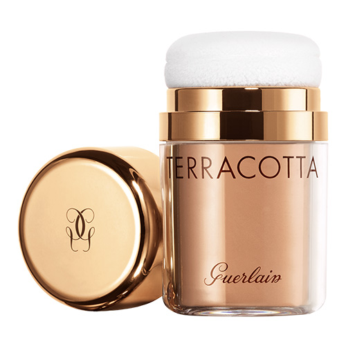 Terracotta Guerlain Pó solto On-The-Go 3-Foncé doré