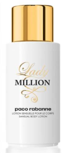 Body Lotion Lady Million Paco Rabanne
