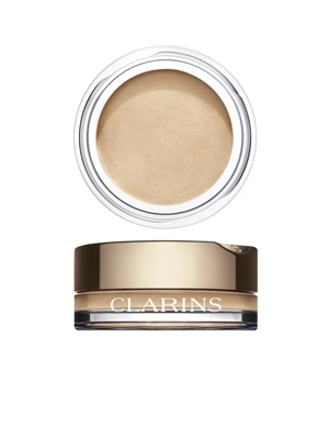 Clarins Ombre Velvet 01-White shadow