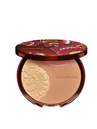 Poudre Soleil 01  Sunset Glow Clarins