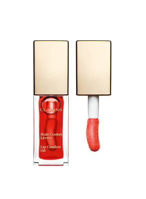Clarins Eclat Minute Huile Confort Lèvres 03 03-Red berry