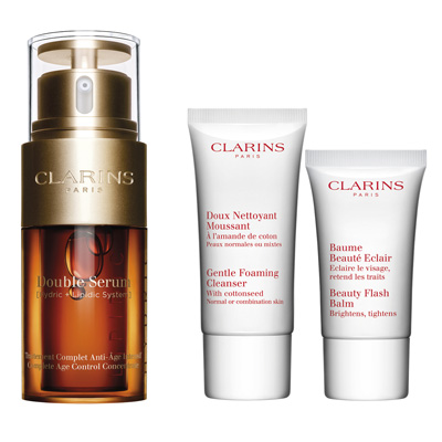 Clarins Double Serum 30 ml +  D. N. + Baume B. 30 ml