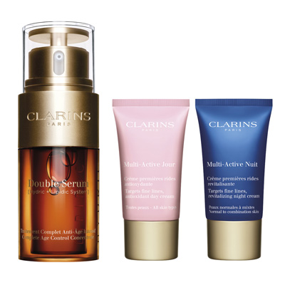 Clarins Double Serum 30 ml + Multi-Active Jour 30 ml