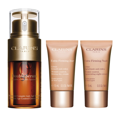 Clarins Double Serum 30 ml + Extra-Firming Jour 30 ml