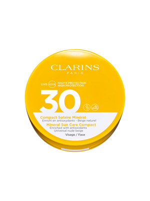 Uvb Uva 30  Compact Solaire Mineral Vis Clarins
