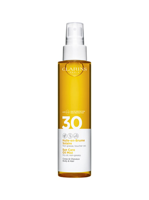 Clarins Uvb Uva 30 - Huile-en-Brume Solaire Corp 150 ml