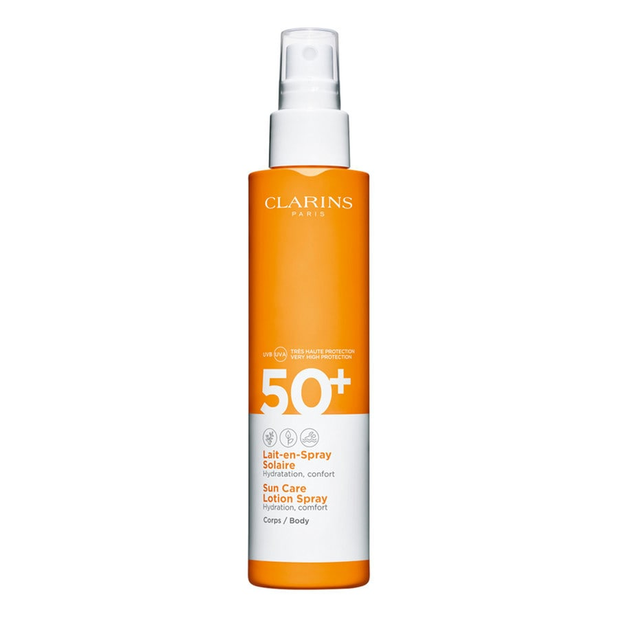 Clarins Lait-en-Spray Solaire Corps UVA/UVB 50+ 150 ml