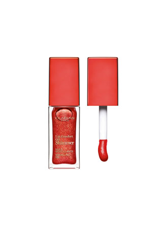 Clarins Lip Comfort Oil Shimmer 07 - red hot 07-Pretty in p.